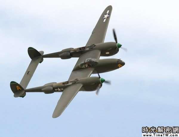 P38戰鬥機。