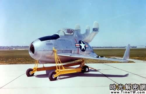 XF-85戰鬥機。
