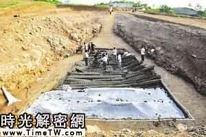 江蘇盱眙漢墓出土大量古兵器 墓主可能是劉邦二哥