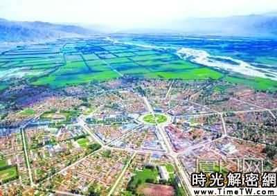 伊犁現中國惟一無紅綠燈縣城 城市規劃如八卦