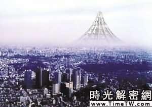 日本欲造摩天「巨塔」 800層樓可住100萬人