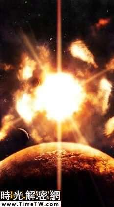 在世界末日來臨前兩個月,地球將被太陽撕裂,在此前5天,月球將被地球撕裂