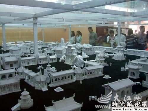 世界最大瓷雕大觀園亮相瓷博會(圖)