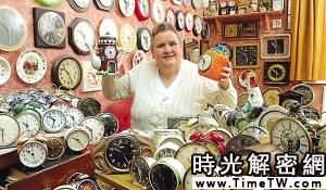 英老婦收藏4000只鬧鐘每晚要花1小時上發條