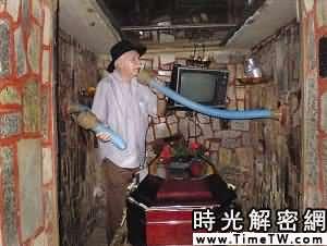 科技時代_巴西一老人患「活埋恐怖症」自建墓穴