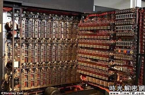英國14年重建二戰密碼破譯機 輪子驅動高2米