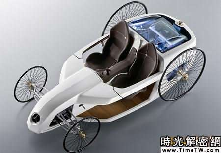奔馳推出新概念車似19世紀馬車(組圖)