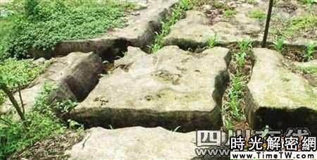 宜賓現14塊神奇豆腐石 每塊重數十噸(圖)