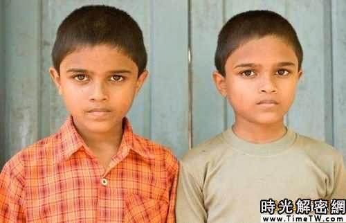 組圖:揭秘印度雙胞胎高產村