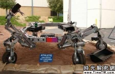 美未來火星車大揭秘:可攀爬峭壁跳躍(組圖)