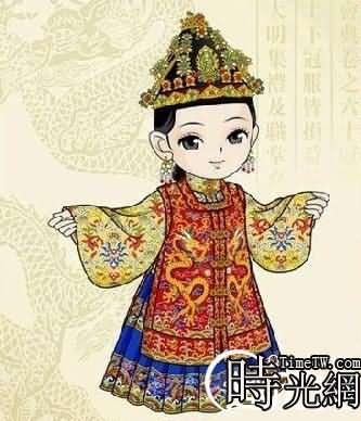 唐代皇帝服装花纹