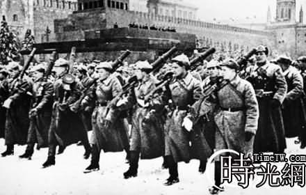 歷史上史達林與希特勒的較量:蘇聯紅場大閱兵
