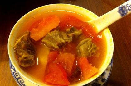 木瓜牛肉片