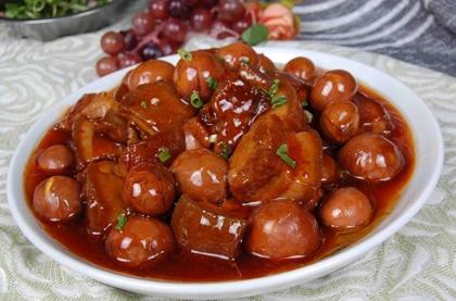 紅燒肉鹵蛋