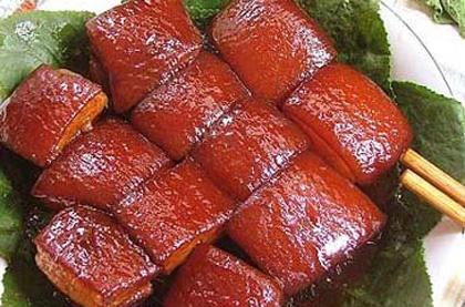 粗獷拌飯式紅燒肉