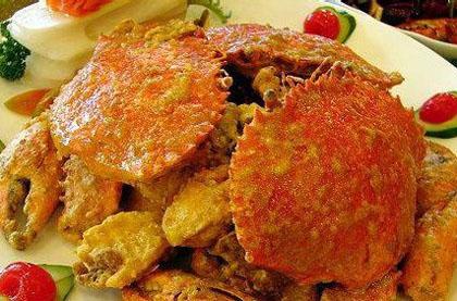 黃金麵包蟹