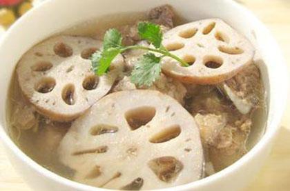 蓮藕牛腩湯