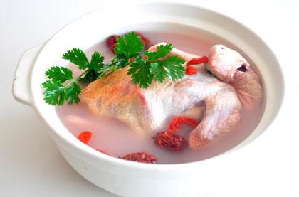 枸杞鴿子煲靚湯