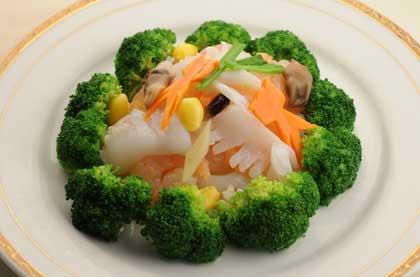 西蘭花炒蝦仁