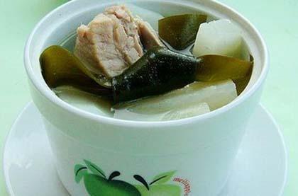 蘿蔔海帶排骨湯