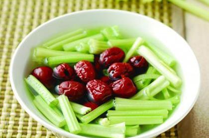 芹菜紅棗湯