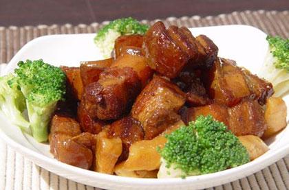 蘿蔔紅燒肉
