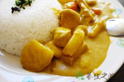 正宗日式咖喱雞飯