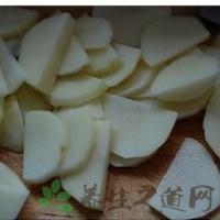 土豆去皮切片