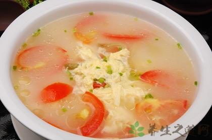 西紅柿雞蛋湯