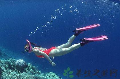 夏季潛水注意事項