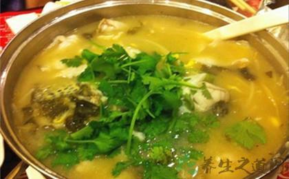 胡椒湯酸菜魚可增食慾