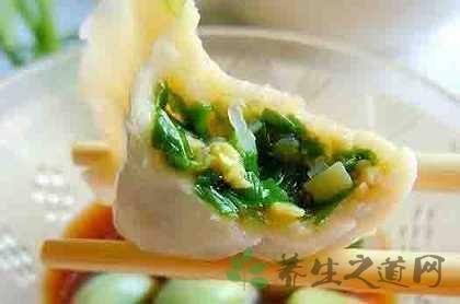韭菜雞蛋餃子