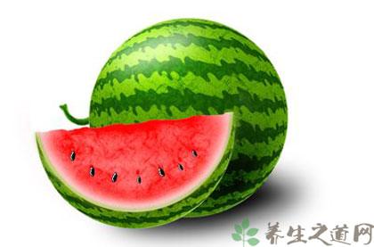 清熱消暑食物--西瓜