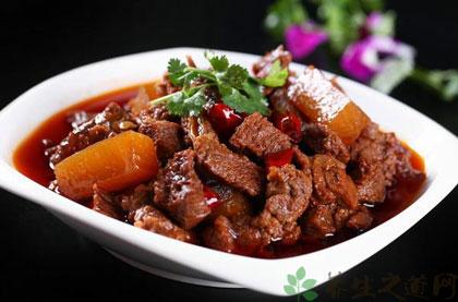 紅燒牛肉的家常做法