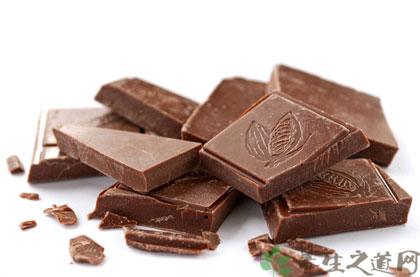 吃巧克力的好處