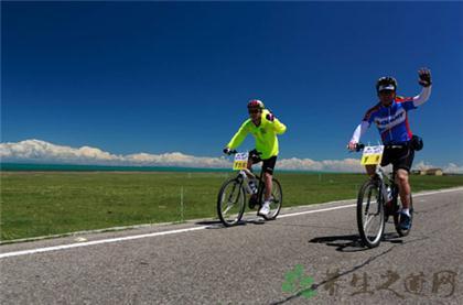 騎自行車比賽