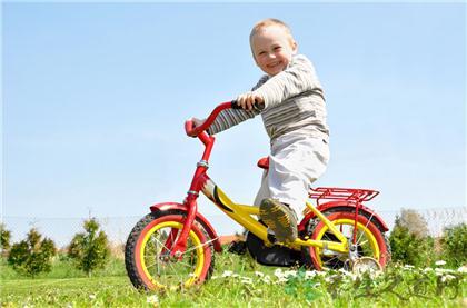 注意騎自行車的姿勢