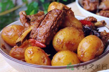 排骨燉小土豆 東北菜