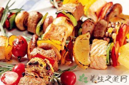 美式什錦烤串