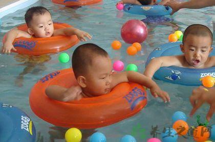 嬰兒游泳注意事項