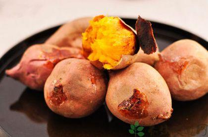 微波爐烤紅薯的四種做法