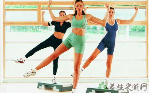 健美操基本步法和手型