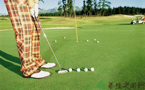 打高爾夫如何瞄準