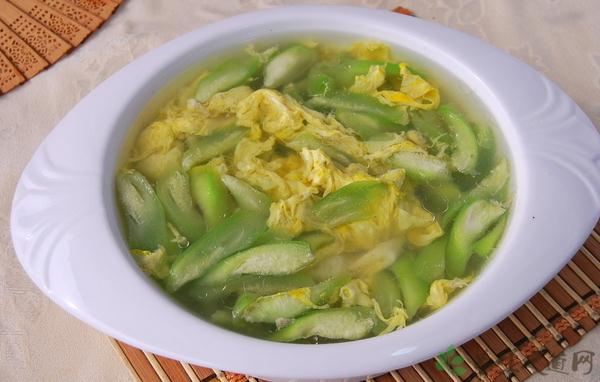 絲瓜蛋湯圖片