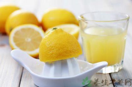 喝檸檬水有什麼好處