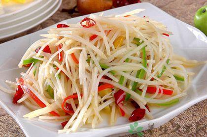 怎麼炒土豆絲不粘鍋