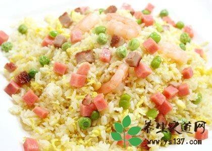 蔬菜糙米飯