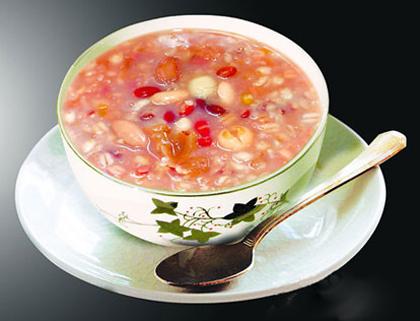 二米紅棗粥
