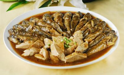 鯰魚燒豆腐