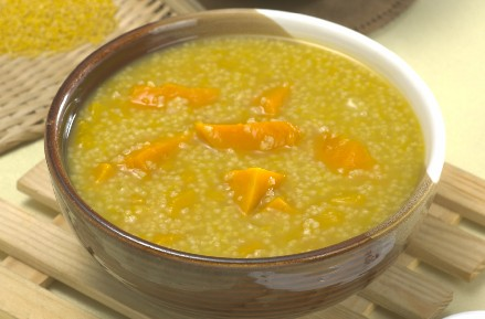 花生小米粥